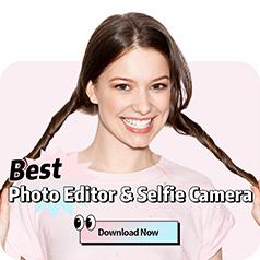 Best photo editor & selfie camera. Download now.